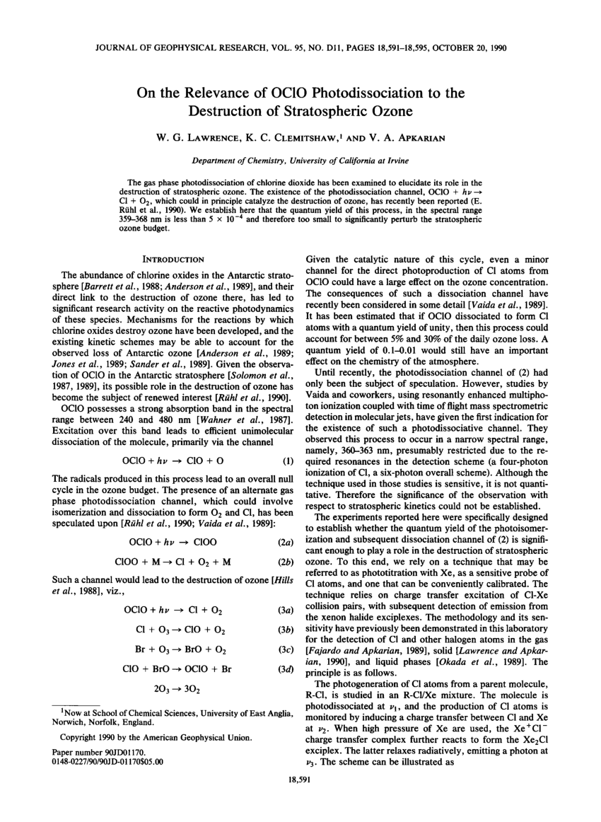 medium resolution of reflection absorption ir spectroscopicinvestigation of the photolysis of thin films of dichlorinemonoxide and chlorine dioxide request pdf