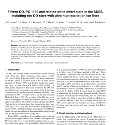 pdf new evolutionary sequences for hot h deficient white dwarfs on the basis of a full account of progenitor evolution [ 850 x 1203 Pixel ]