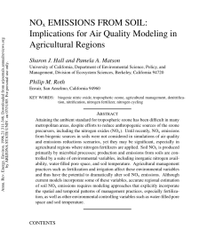 pdf nox emissions from soil implications for air quality modeling in agricultural regions [ 850 x 1203 Pixel ]