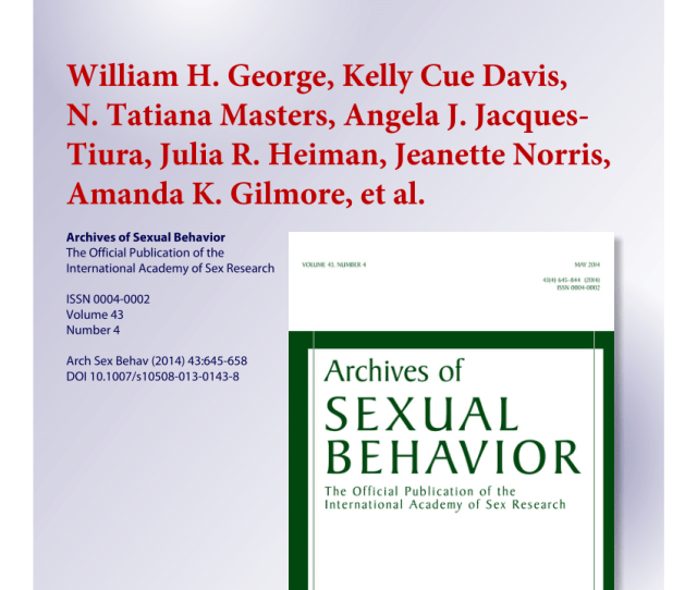 Pdf Sexual Victimization Alcohol Intoxication Sexual Emotional Responding And Sexual Risk In Heavy Episodic Drinking Women