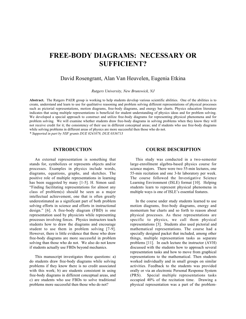 hight resolution of  pdf free body diagrams necessary or sufficient