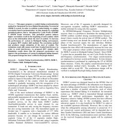 pdf symbol timing synchronization for isdb t system in multipath fading channel [ 850 x 1203 Pixel ]