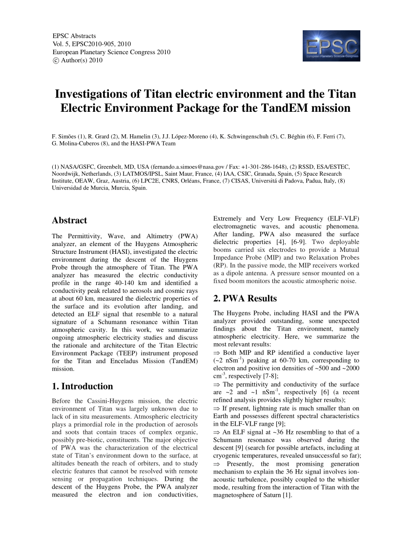 medium resolution of vertical profile of the electron density in titan s atmosphere the download scientific diagram
