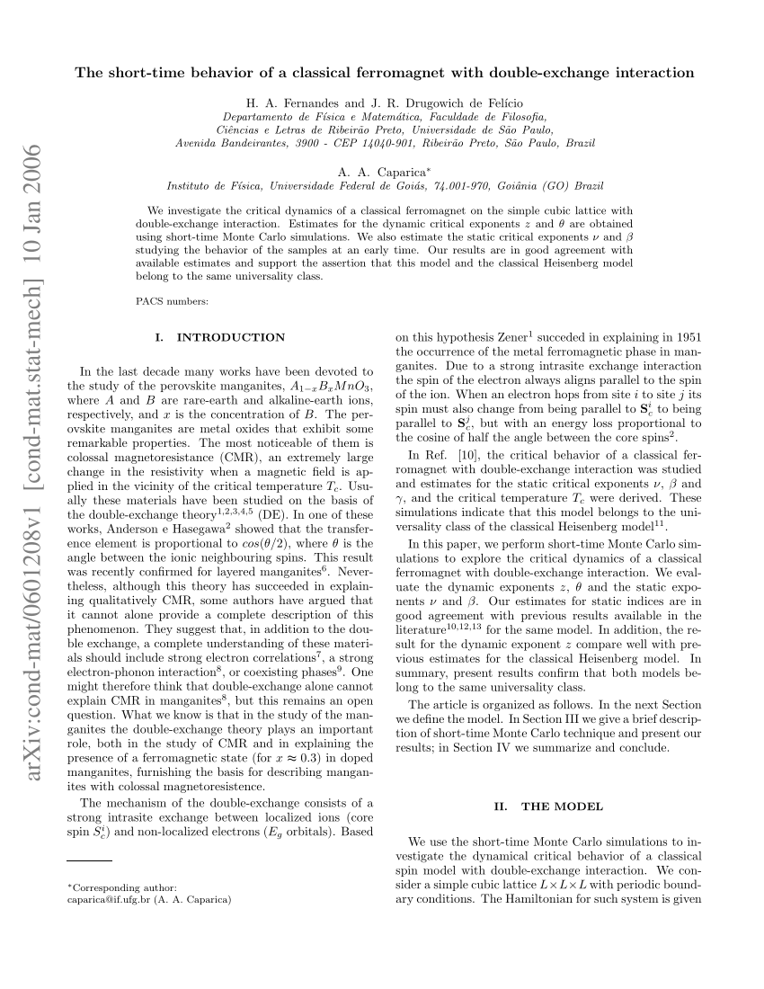 medium resolution of si 95 2 the short time dynamics of the critical potts model request pdf