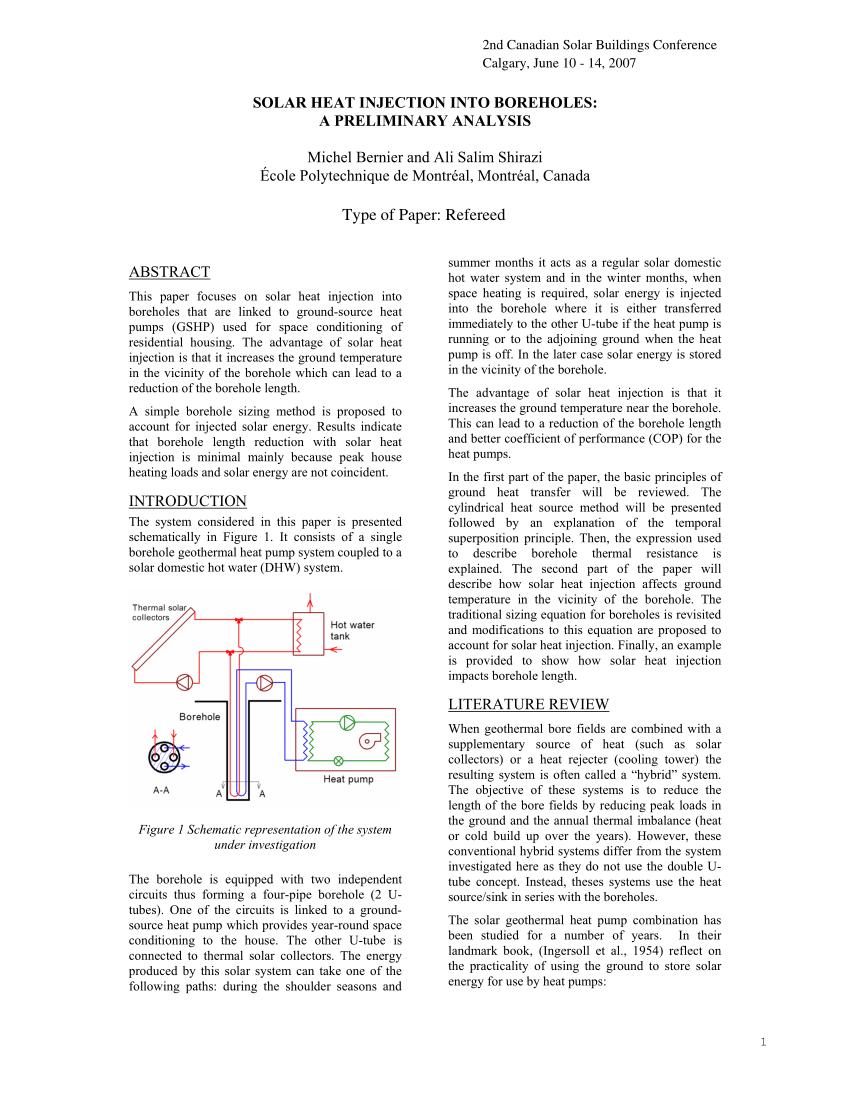 medium resolution of  pdf solar heat injection into boreholes a preliminary analysis