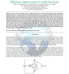 pdf efficiency improvement of a table fan motor [ 850 x 1100 Pixel ]