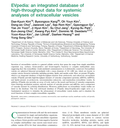 pdf evpedia an integrated database of high throughput data for systemic analyses of extracellular vesicles [ 850 x 1133 Pixel ]