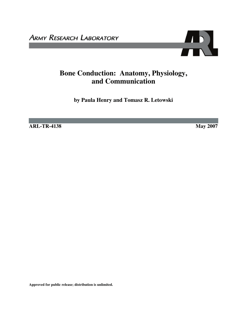 medium resolution of  pdf bone conduction anatomy physiology and communication
