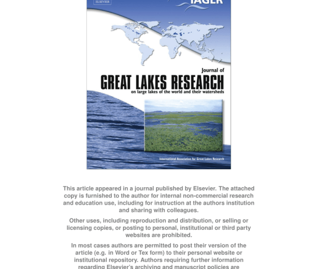 Pdf Long Term Water Clarity Changes In North Americas Great Lakes From Multi Sensor Satellite Observations