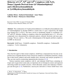 pdf synthesis characterization and electrochemical behavior of coii niii and cdii complexes with n2o2 donor ligands derived from 4 4 diaminobiphenyl  [ 850 x 1290 Pixel ]