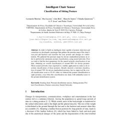 Posture Monitoring Chair Design Unique Pdf Intelligent Sensor Classification Of Sitting