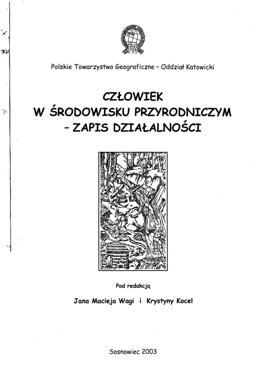 (PDF) Fazy eroszij wawozowej w okolicach kazimierza