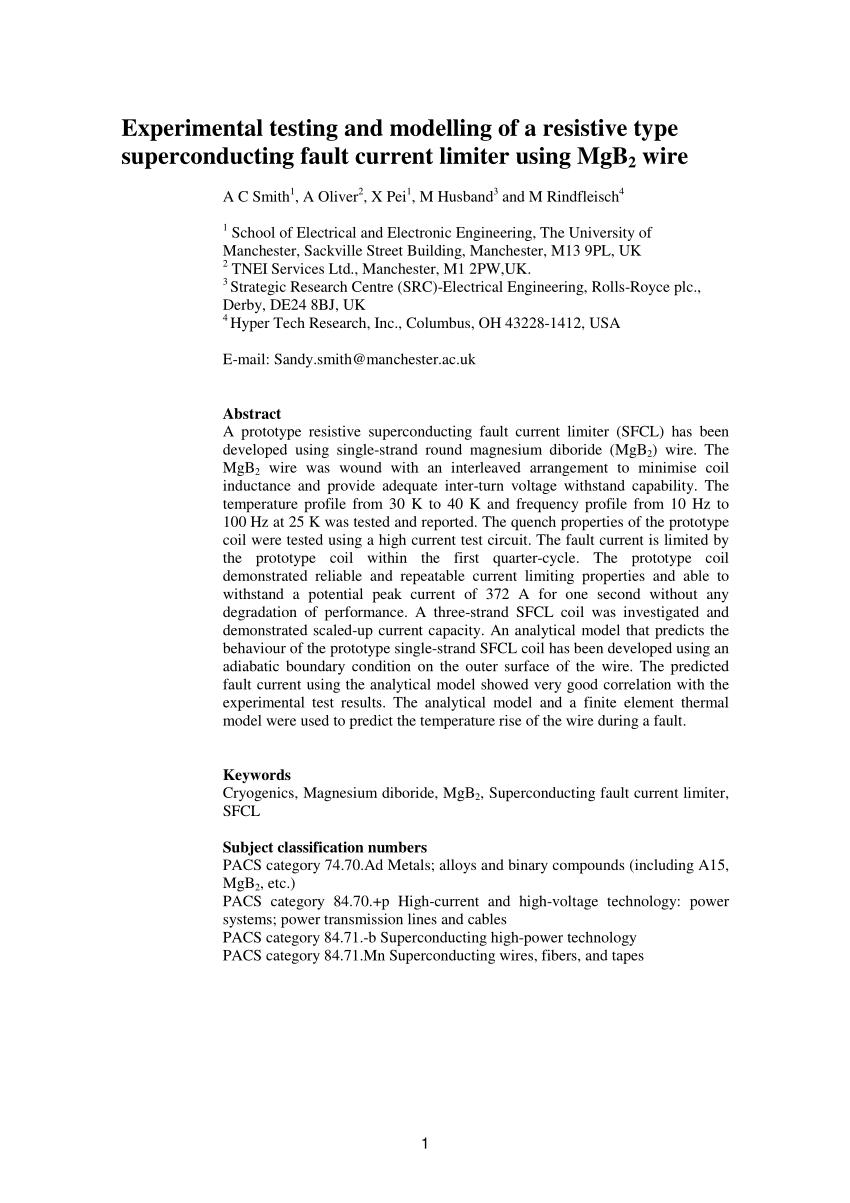 medium resolution of quench current versus bending radius of the mgb 2 monocore wire download scientific diagram
