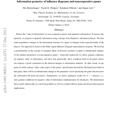 pdf information geometry of influence diagrams and noncooperative games [ 850 x 1100 Pixel ]