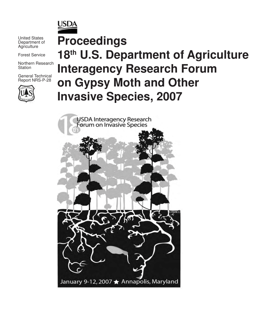 (PDF) Proceedings 18th U.S. Department of Agriculture