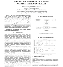 pdf development of single phase induction motor adjustable speed control using pic 16f877 microcontroller [ 850 x 1100 Pixel ]