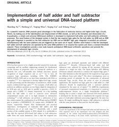 pdf logic design and implementation of half adder and half subtractor using nand gate given the vhdl descriptions [ 850 x 1133 Pixel ]