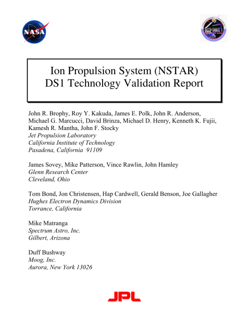 small resolution of  pdf short review on electric propulsion system ion thruster