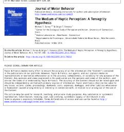 pdf the medium of haptic perception a tensegrity hypothesis [ 850 x 1100 Pixel ]