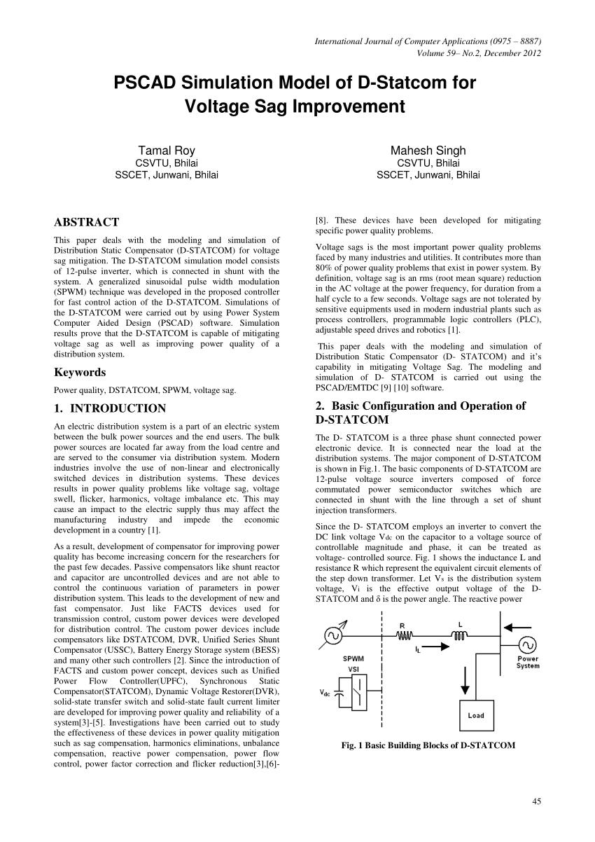 medium resolution of d statcom block diagram