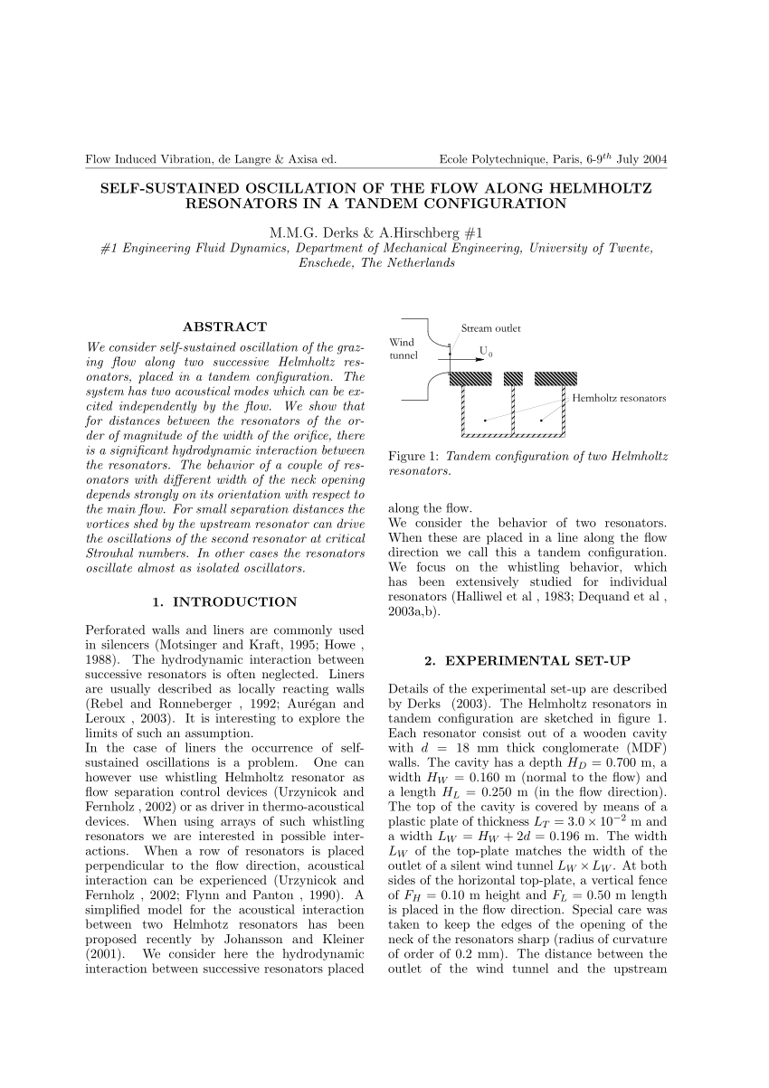 hight resolution of  pdf on the whistling corrugated pipes effect of pipe length and flow profile