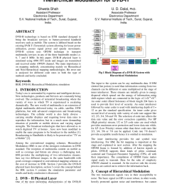 pdf characteristic analysis of hierarchical and non hierarchical modulation for dvb h [ 850 x 1202 Pixel ]