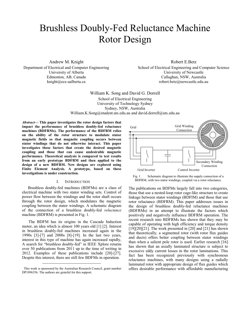 medium resolution of rotor pole optimization of novel axial flux brushless doubly fed reluctance machine for torque enhancement request pdf