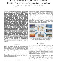pdf smart grid education models for modern electric power system engineering curriculum [ 850 x 1100 Pixel ]