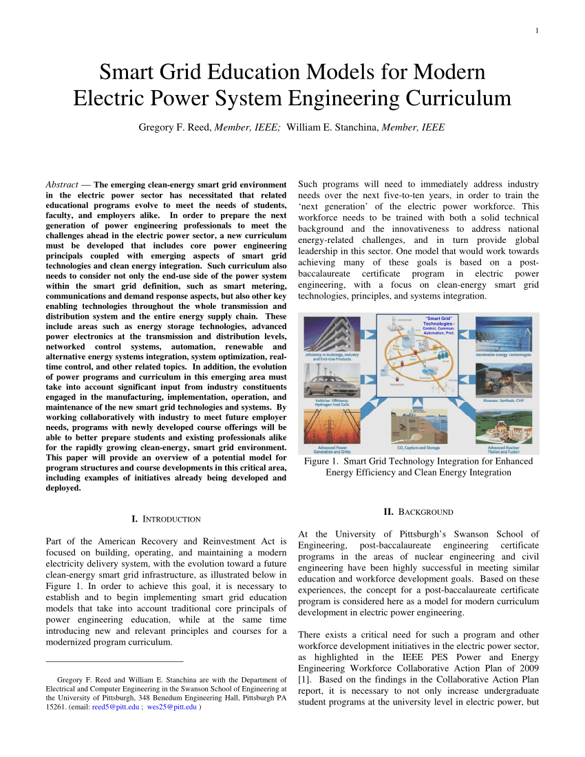 hight resolution of  pdf smart grid education models for modern electric power system engineering curriculum