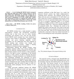 pdf a novel latching rf mems spst switch [ 850 x 1203 Pixel ]