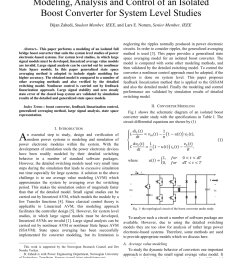 the topological circuit of the boost converter under study download scientific diagram [ 850 x 1203 Pixel ]