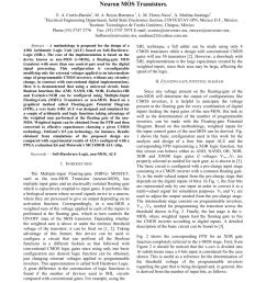 pdf 4 bit arithmetic logic unit alu based on neuron mos transistors [ 850 x 1100 Pixel ]