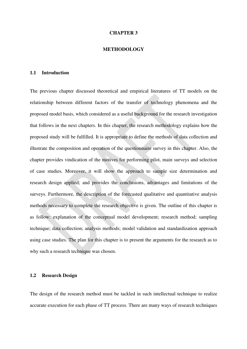 PDF CHAPTER 3 METHODOLOGY TECHNOLOGY TRANSFER THESIS