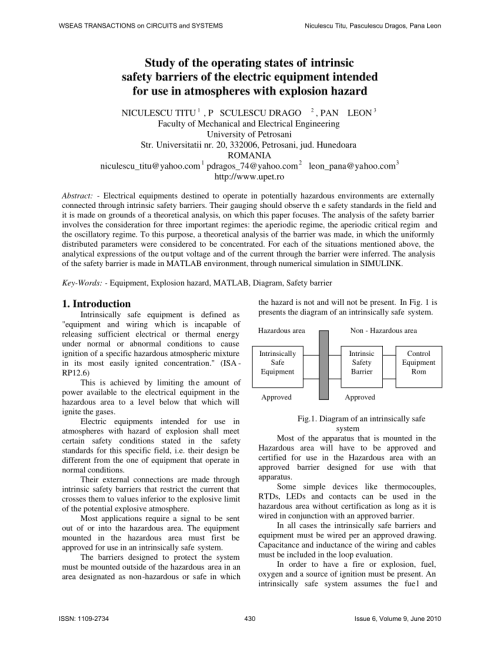 small resolution of  pdf study of the operating states of intrinsic safety barriers of the electric equipment intended for use in atmospheres with explosion hazard