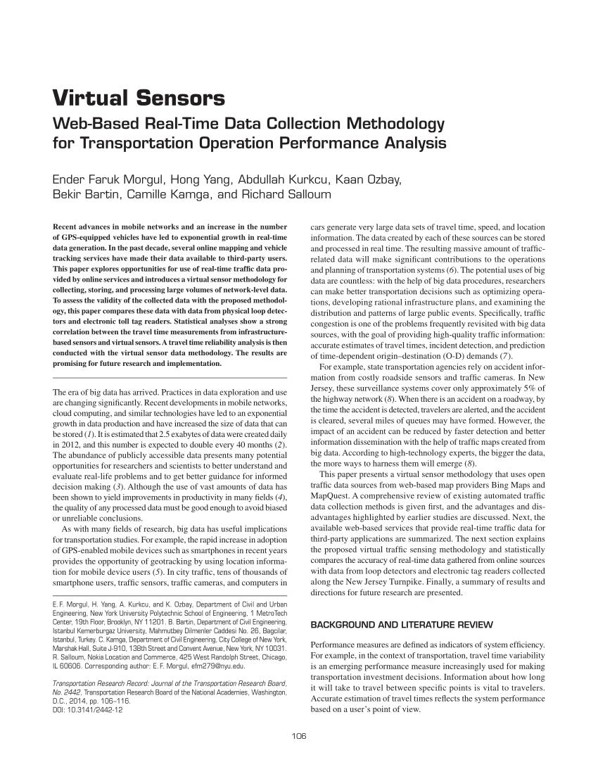 PDF Virtual Sensors Web Based Real Time Data Collection