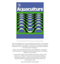 pdf sea cucumber culture farming and sea ranching in the tropics progress problems and opportunities [ 850 x 1202 Pixel ]