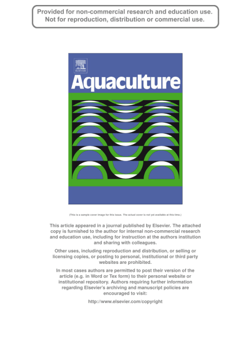 small resolution of  pdf sea cucumber culture farming and sea ranching in the tropics progress problems and opportunities