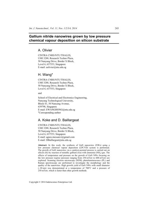 small resolution of  pdf gallium hydride vapor phase epitaxy of gan nanowires