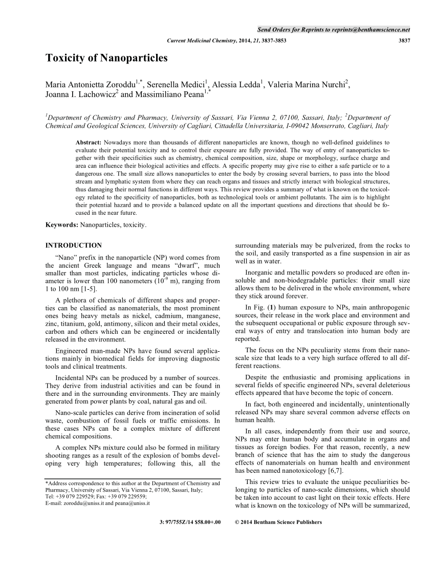medium resolution of  pdf toxicity of nanoparticles