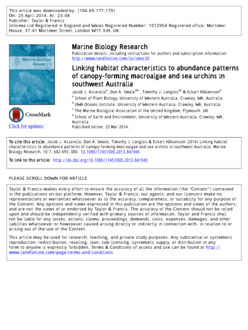 small resolution of regional scale variability in the response of benthic macroinvertebrate assemblages to a marine heatwave da smale request pdf