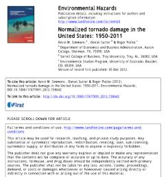 pdf an integrated damage visual and radar analysis of the 2013 moore oklahoma ef5 tornado [ 850 x 1211 Pixel ]