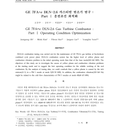 the tuning methodology of a ge 7fa e dln 2 6 gas turbine combustor jeongseog oh request pdf [ 850 x 1149 Pixel ]