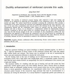 maximum axial load level and minimum confinement for limited ductility design of concrete columns request pdf [ 850 x 1202 Pixel ]