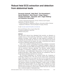 pdf robust fetal ecg extraction and detection from abdominal leads fernando andreotti [ 850 x 1203 Pixel ]