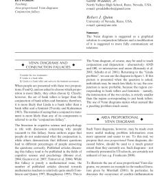 pdf two applications of venn diagrams [ 850 x 1202 Pixel ]