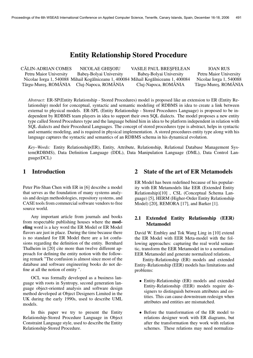 hight resolution of  pdf synergistic database design with an extended entity relationship model