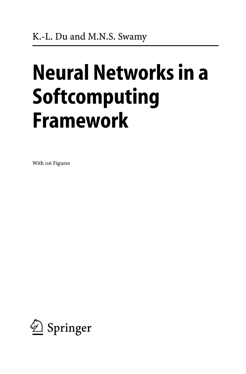 (PDF) Neural Networks in a Softcomputing Framework