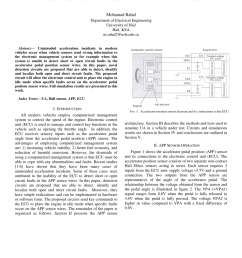 pdf innovative circuits to detect faults in accelerator pedal sensor wires in modern vehicles [ 850 x 1202 Pixel ]