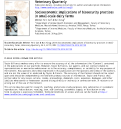 pdf socioeconomic implications of biosecurity practices in small scale dairy farms [ 850 x 1202 Pixel ]