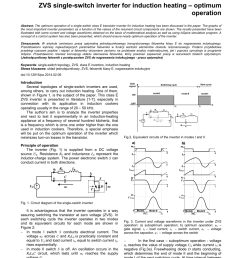 pdf zvs single switch inverter for induction heating optimum operation [ 850 x 1203 Pixel ]